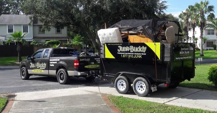 Junk removal in Northdale, Florida 33624