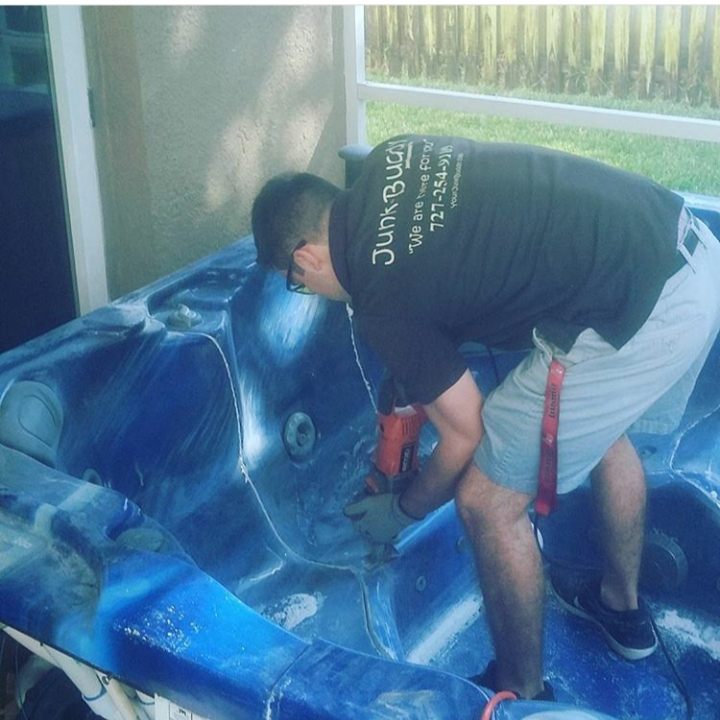 Junk Buddy Hot tub Removal